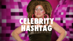 celebrity hashtag